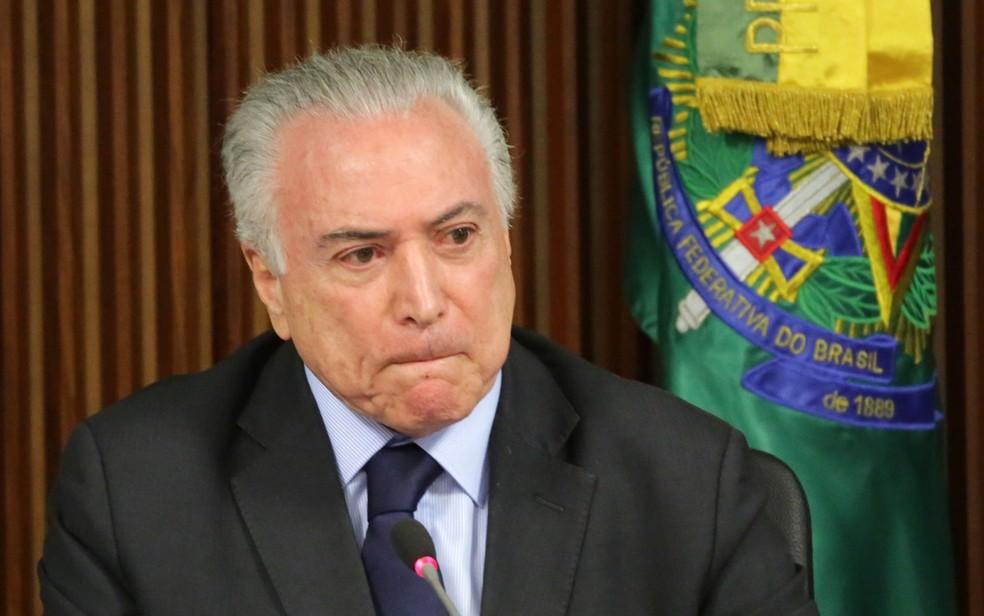 O presidente Michel Temer (Foto: Fátima Meira/Futura Press/Estadão Conteúdo)