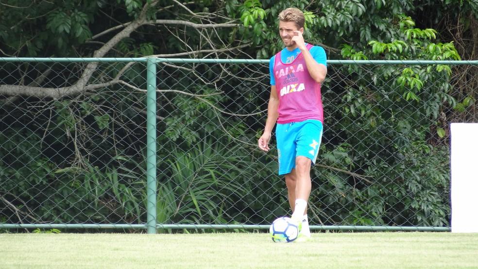 Cláudio Winck também deve perder a titularidade (Foto: Daniel Gomes)