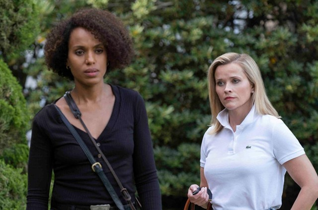 Reese Witherspoon e Kerry Washington em 'Little fires everywhere' (Foto: Divulgação)