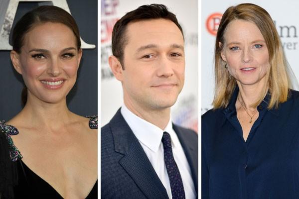 Natalie Portman, Joseph Gordon-Levitt e Jodie Foster já eram famosos antes mesmo de terem licença para dirigir (Foto: Getty Images)