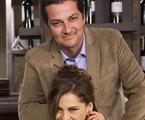 Bárbara Paz e Marcelo Serrado | TV Globo