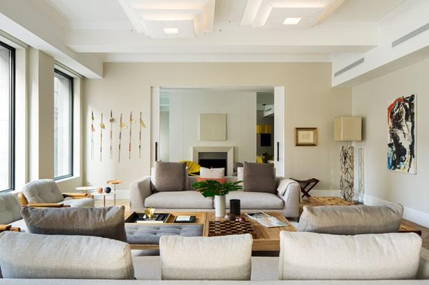 Apartamento de 400 m² em NY equilibra clima cosmopolita e toques tropicais (Foto: Divulgação)