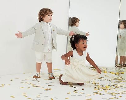 Moda: crianças confortáveis e estilosas para as festas