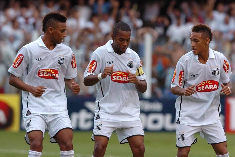 André viveu o melhor momento de sua carreira no Santos e quer reeditar no Grêmio (Foto: Divulgação)