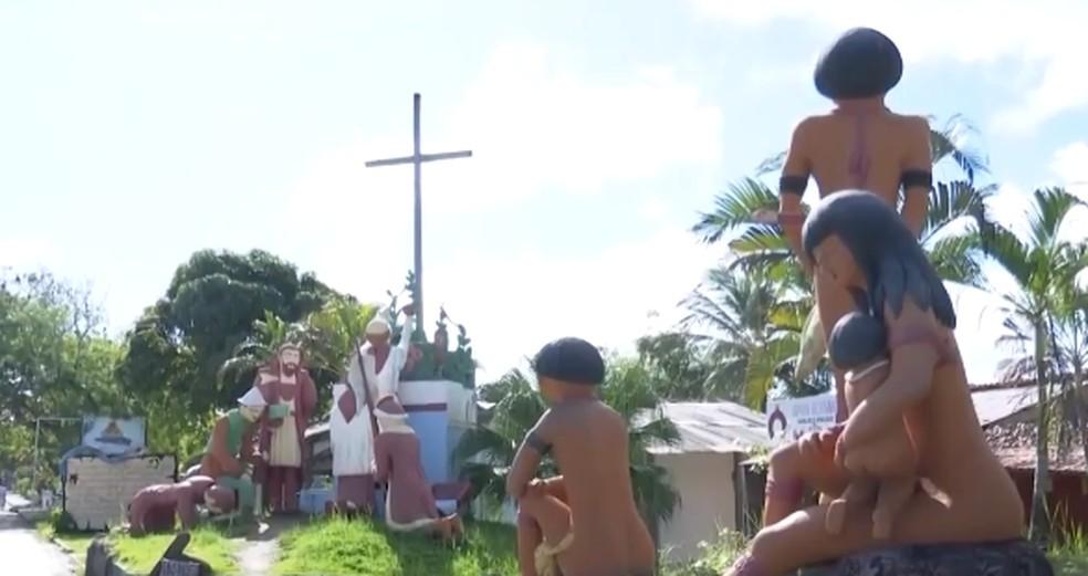 90% dos indígenas infectados pela Covid-19 na Bahia moram no sul e extremo sul do estado — Foto: Reprodução / TV Santa Cruz