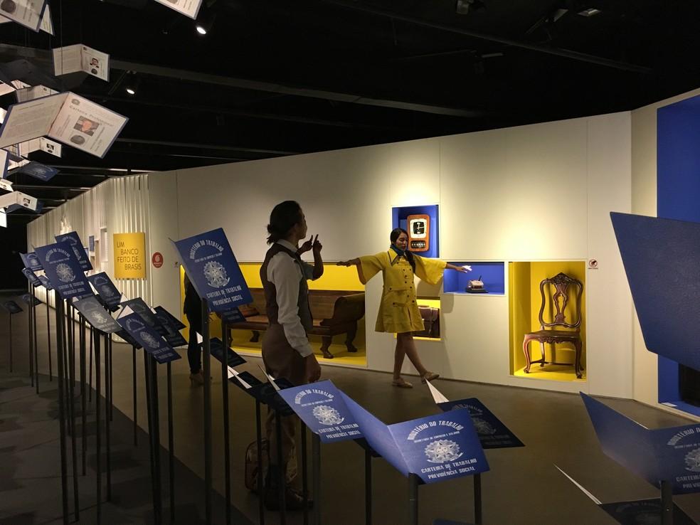 O CCBB Educativo de Brasília ofecere a 'Visita teatralizada' para crianças (Foto: CCBB/Divulgação)