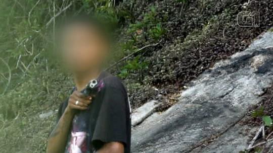 Homens armados na mata assustam moradores na Zona Sul do Rio