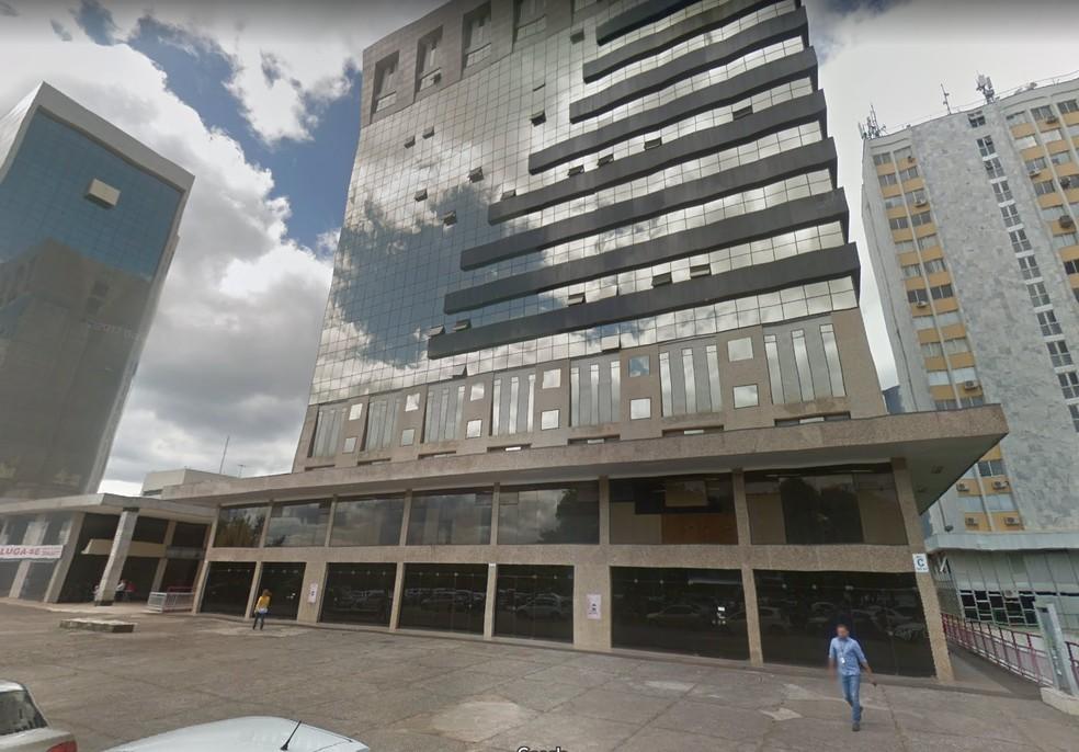 Edifício Phenícia, no Setor Bancário Norte, em Brasília — Foto: Google/Reprodução