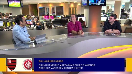 Comentaristas analisam vitória do Flamengo e estratégias de Jesus em  jogo contra o Inter pela Libertadores