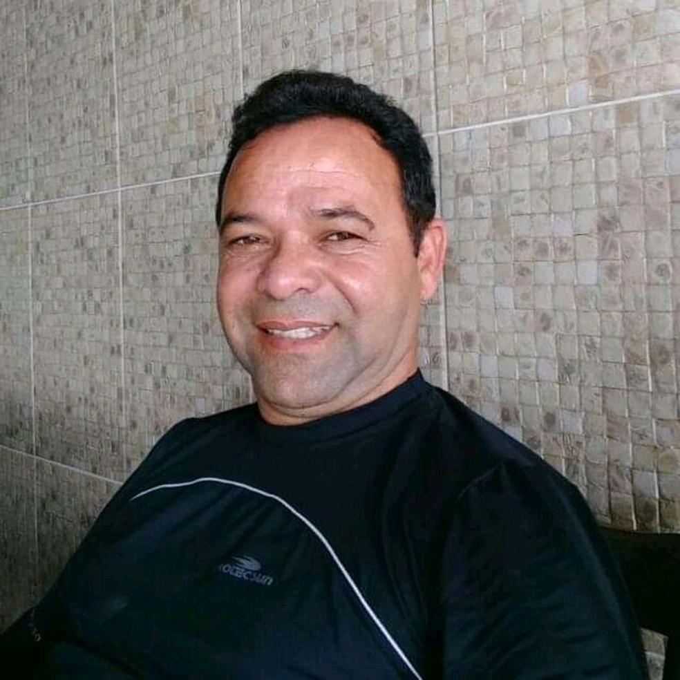 Vice-prefeito Erinaldo Santos foi morto a tiros em Canhotinho — Foto: Reprodução/WhatsApp TV Asa Branca