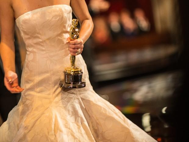 Esquema de segurança pesado para levar uma estrela - e seu look - até o Oscar (Foto: Getty)