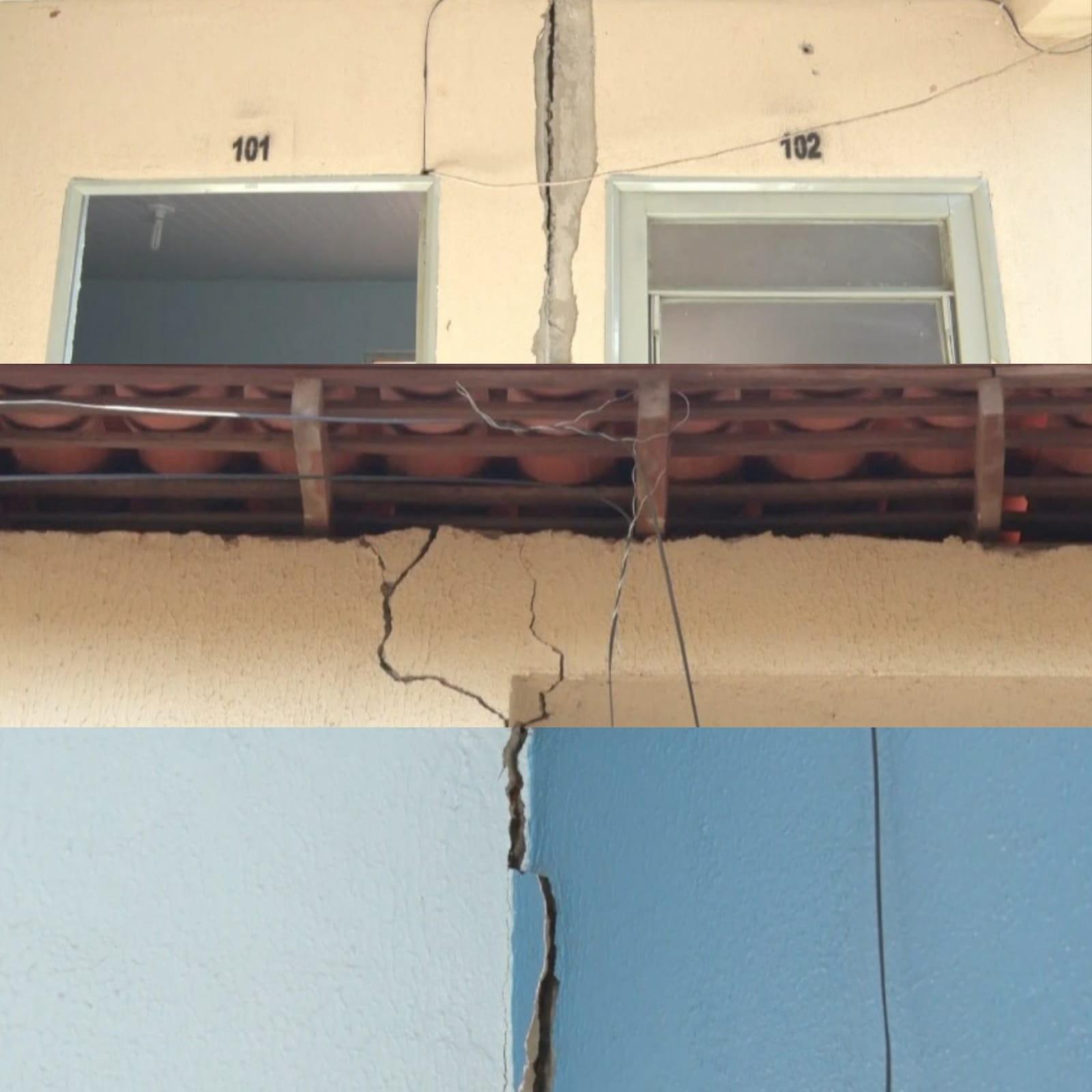 Prefeitura detecta risco de desabamento de apartamentos populares em Picos, Sul do Piauí
