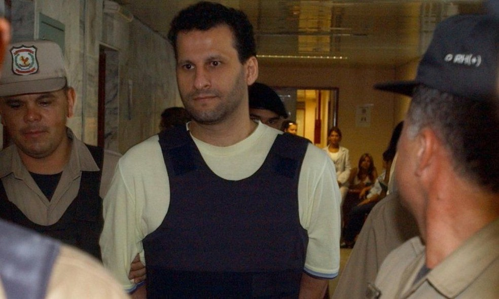 Em 2002, Assad Barakat foi preso em Foz do Iguaçu após autorização do STF e no ano seguinte expulso para o Paraguai — Foto: ABC Color/Arquivo/Reprodução
