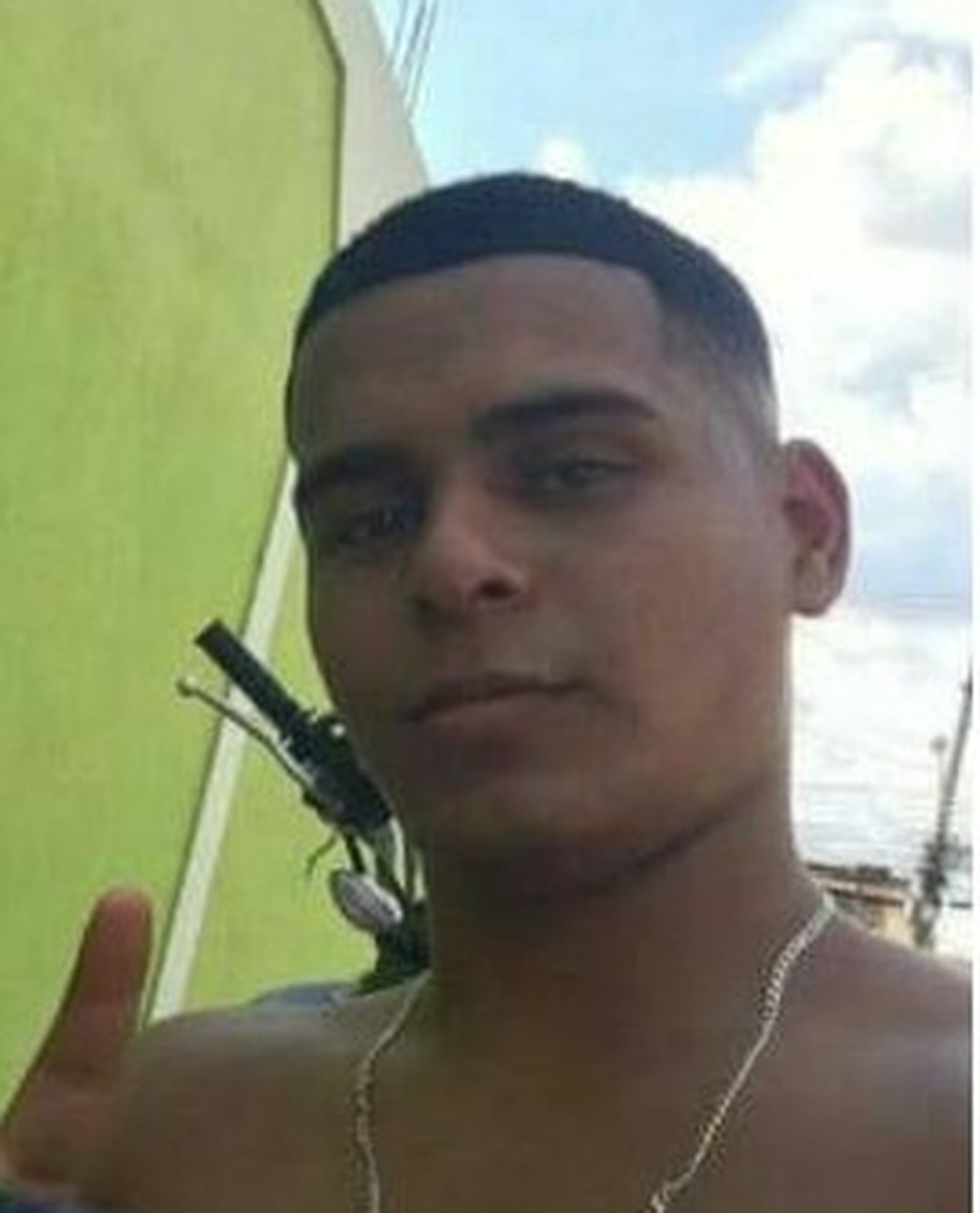 Yuri Lima Vieira, morto em festa junina em Anchieta — Foto: Reprodução