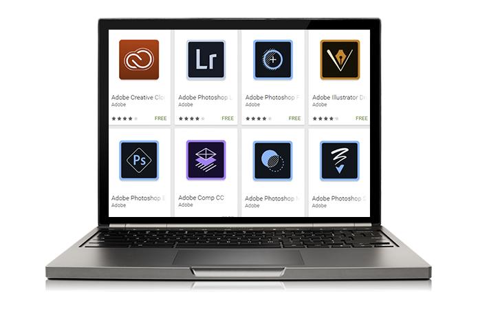 Adobe libera seis apps de edição para Chromebooks (Foto: Montagem/Paulo Alves)