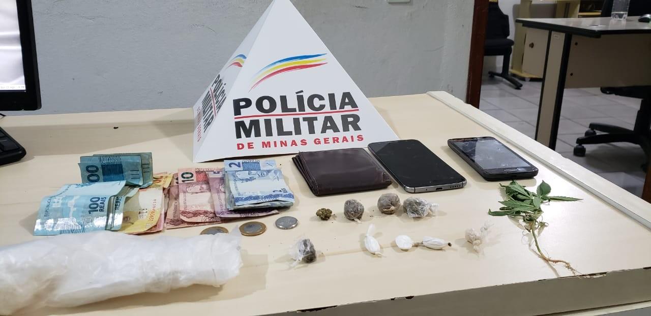 Após denúncias, quatro são presos e um menor detido por tráfico de drogas em Conselheiro Pena e Governador Valadares