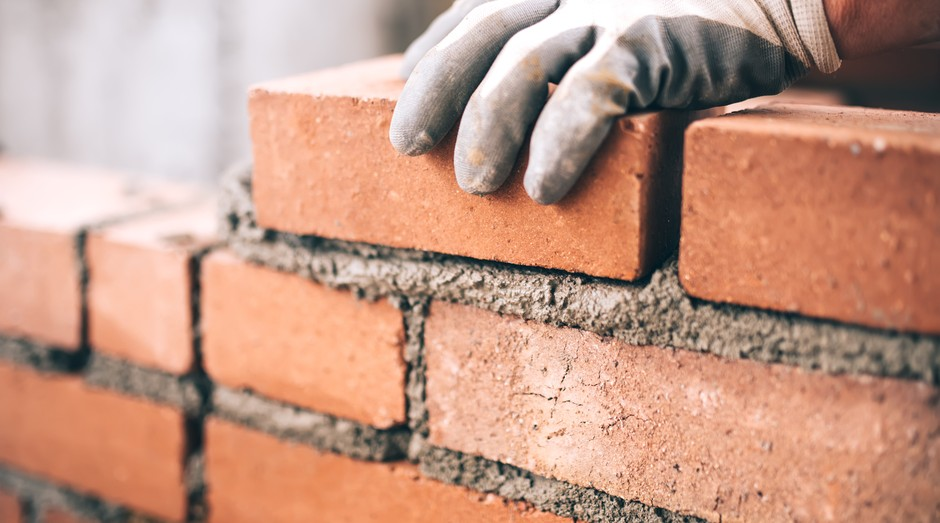 Tijolo, construção civil (Foto: Thinkstock)