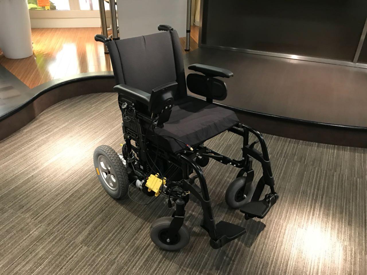 Cadeira de rodas da Microsoft (Foto: Divulgação/ Microsoft)