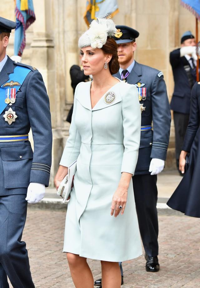 Kate Middleton na comemoração do centenário da Força Aérea Real britânica (Foto: Getty Images)