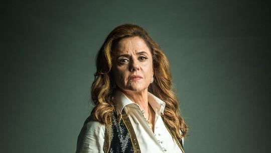 Marieta Severo sobre vilã: 'Ela vive em função do poder que o dinheiro dá'