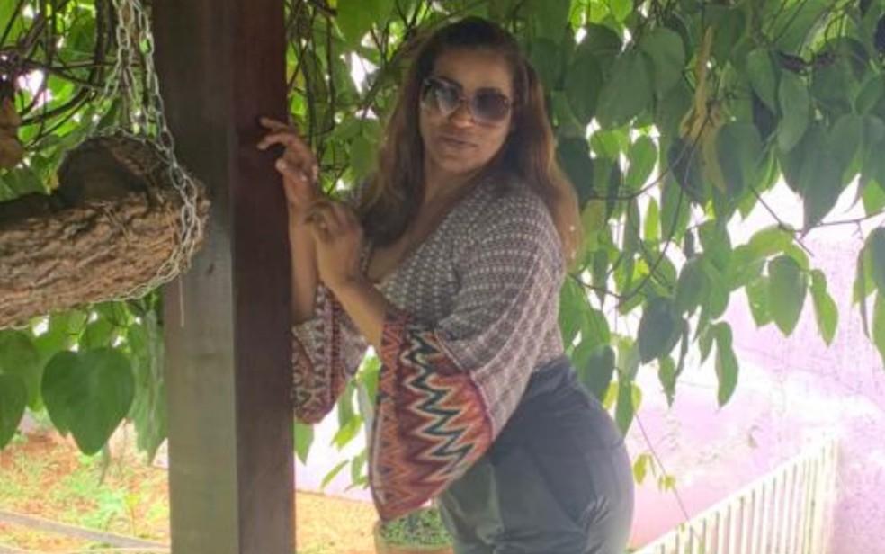 Ronilza Johnson está em UTI após procedimento estético clandestino em Anápolis — Foto: Reprodução/TV Anhanguera