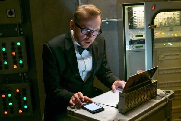 O ator Simon Pegg em cena da franquia Missão Impossível (Foto: Reprodução)