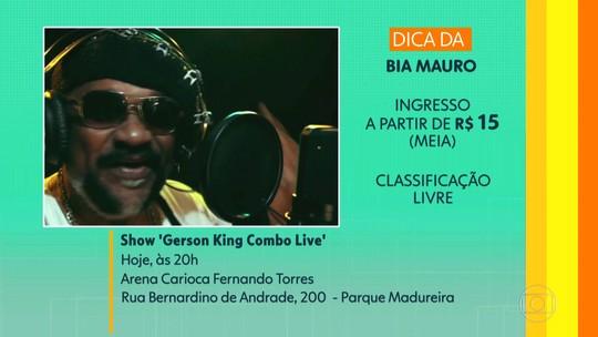 Telespectadores sugerem: show do Gerson King Kombo no Parque Madureira