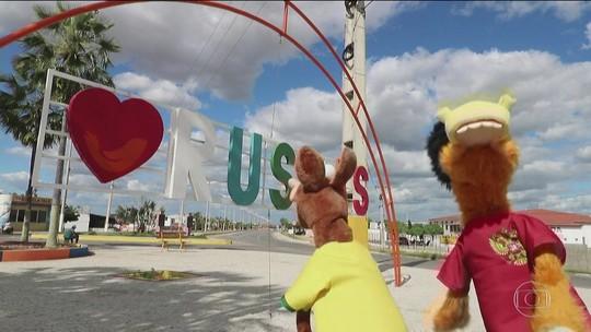 Cavalinhos não entendem nada e vão parar na cidade de Russas, no Ceará