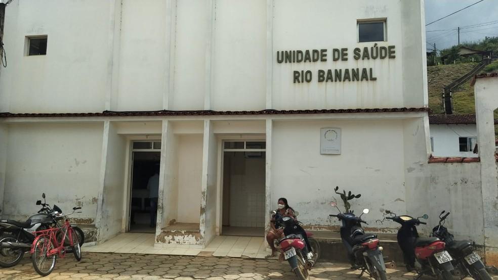 Segundo a Prefeitura de Rio Bananal, o relógio de energia elétrica da sede de vacinação foi desligado por vândalos — Foto: Eduardo Dias/TV Gazeta