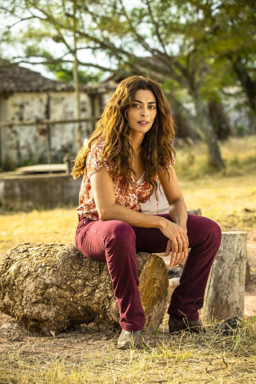 Em 'A Dona do Pedaço', Juliana Paes interpreta Maria da Paz — Foto: TV Globo/João Miguel Jr.
