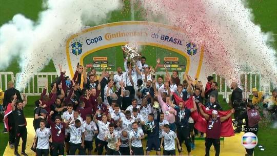 Athletico Paranaense vence a Copa do Brasil