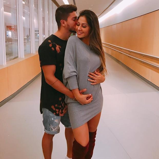 Arthur Aguiar e Mayra Cardi (Foto: Reprodução/Instagram)