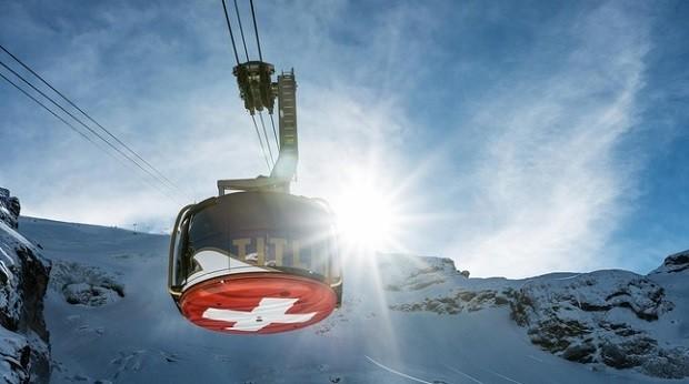 Teleférico de Engelberg-Titlis, na Suíça  (Foto: Divulgação myswitzerland)