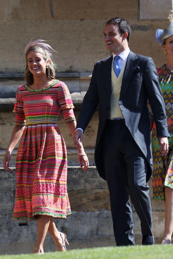 Cressida Bonas e esposo (Foto: Getty Images)