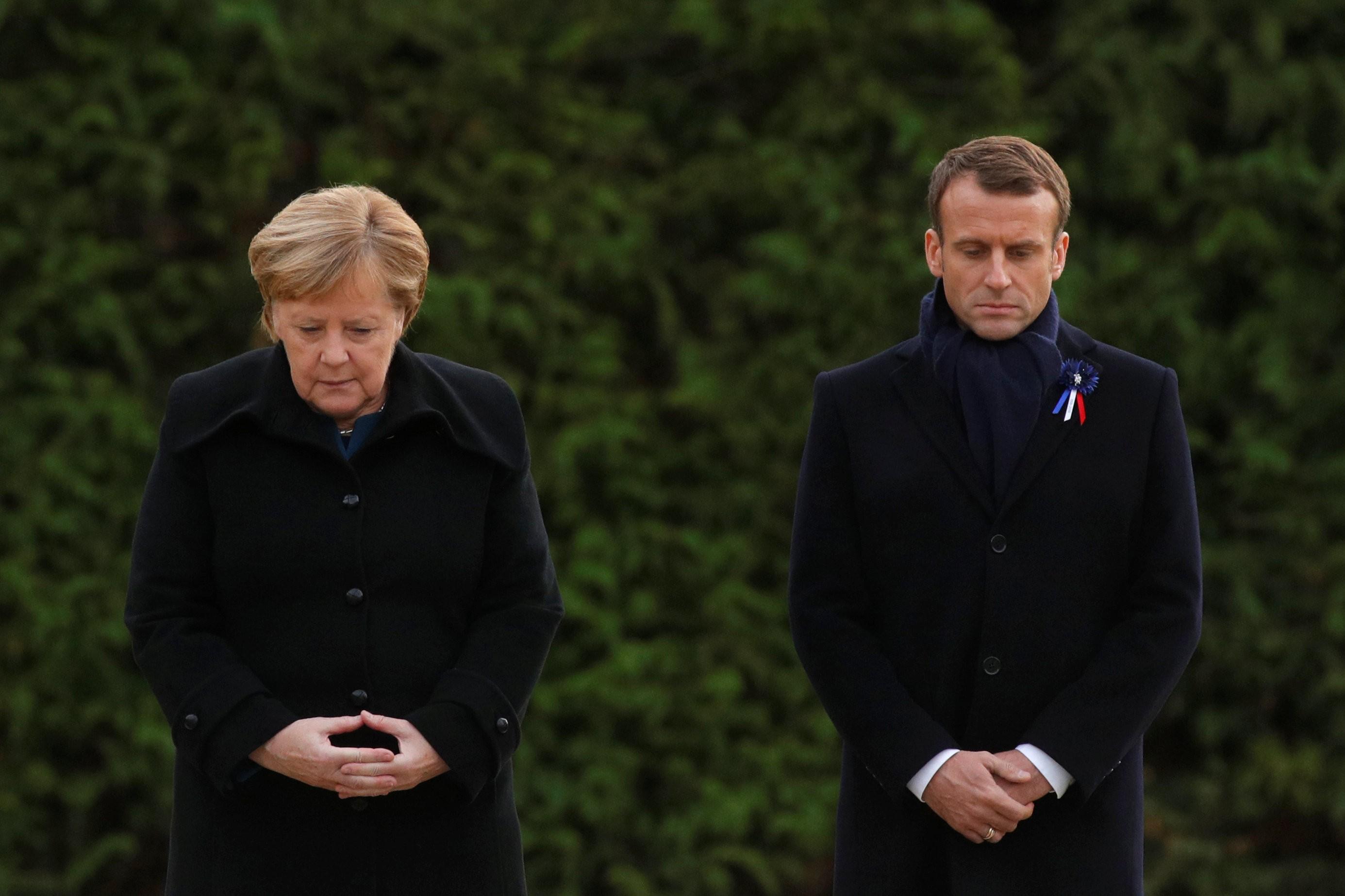 Merkel e Macron participam de ato em memória dos 100 anos do fim da Primeira Guerra Mundial