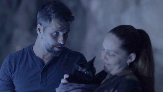 Léon volta a viver após medida desesperada de Gabriel e Judith