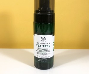 Resenha: Espuma de Limpeza Tea Tree Skin Cleasing,The Body Shop
