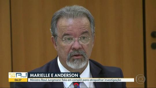 Jungmann fala em complô para atrapalhar investigação sobre mortes de Marielle e Anderson