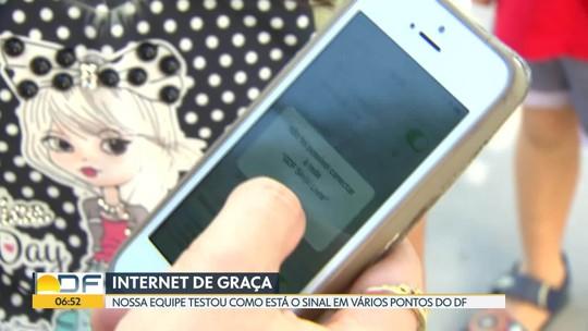 Projeto de wi-fi no DF vai liberar sinal de graça por 1 hora, diz secretário de Tecnologia
