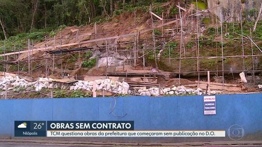 TCM quer explicações sobre obras emergenciais feitas pela prefeitura sem publicação no Diário Oficial