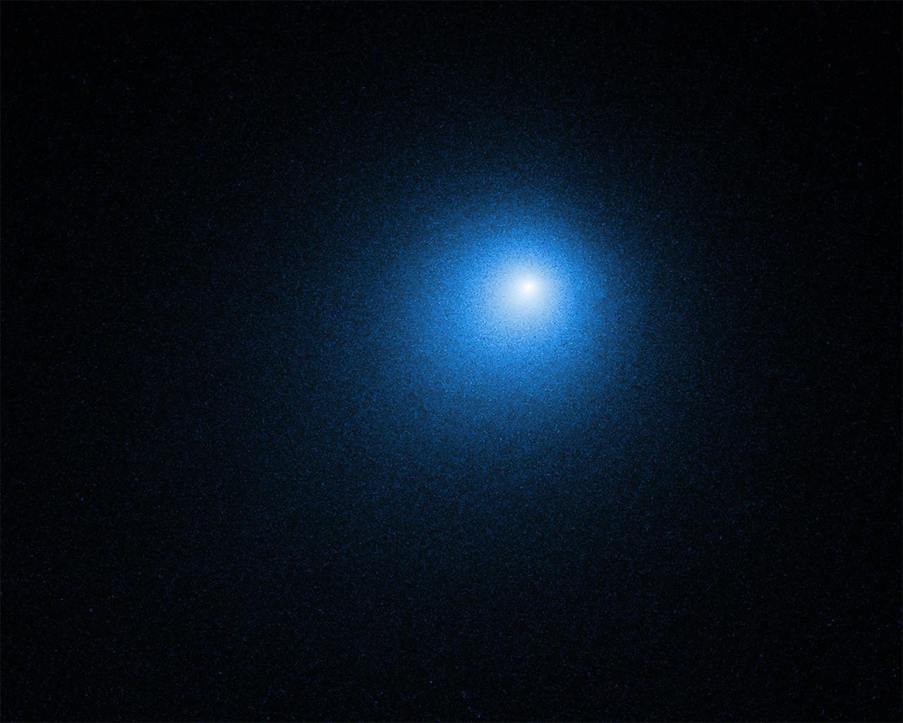 Hubble faz registro do cometa 46P/Wirtanen, que passou pela Terra em 2018 (Foto: NASA/Hubble)