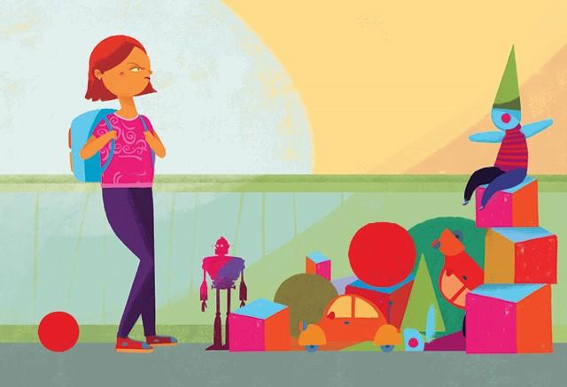 Ilustração de filha primogênita (Foto: Ilustração: Weberson Santiago  )