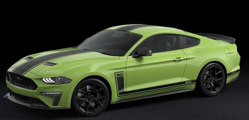 O Mustang R-Spec é vendido pela Ford Austrália e possui edição limitada.  — Foto: Ford