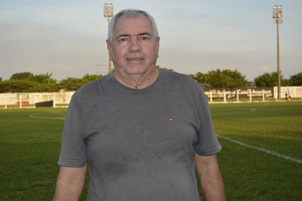 Treinador Marcos Birigui (Foto: Diêgo Holanda/GloboEspote.com)
