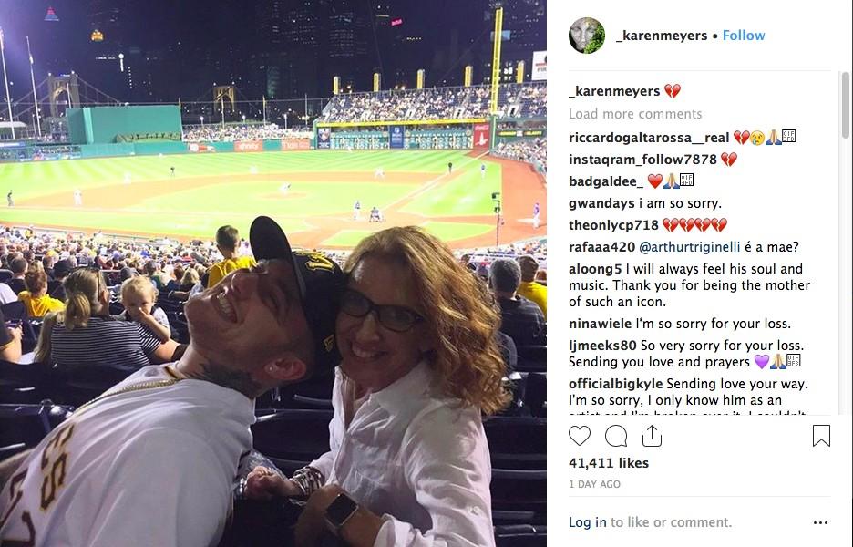 O post emocionante da mãe do rapper Mac Miller (1992-2018) (Foto: Instagram)