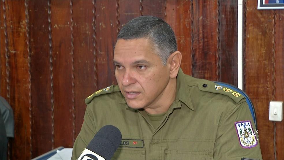 Coronel André Carlos Oliveira volta a Santarém para assumir o Comando de Policiamento Regional 1 — Foto: Reprodução/TV Tapajós