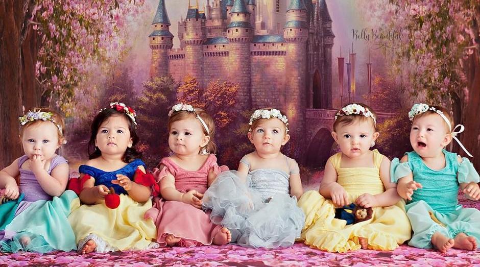bebes, princesas, disney (Foto: Karen Marie)