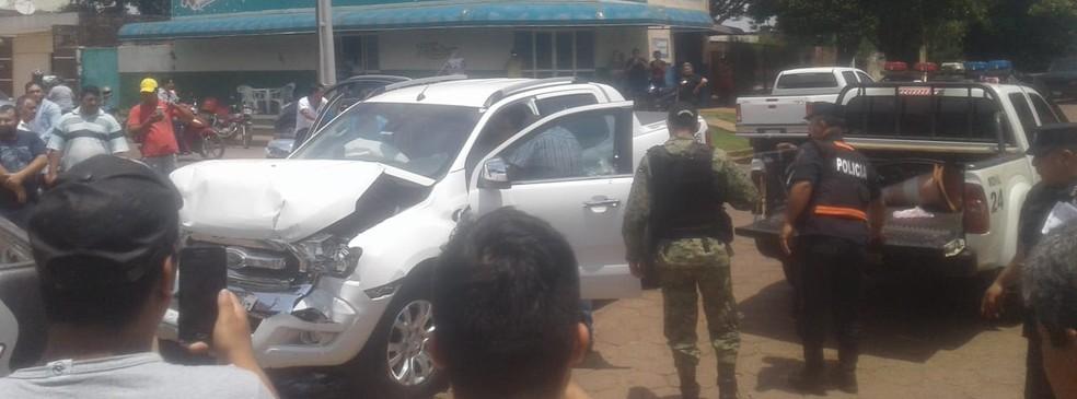 Piloto foi morto com tiros de fuzil  — Foto: Redes Sociais / Divulgação