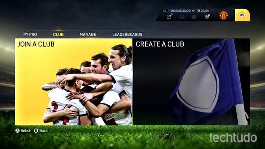 Fifa 15: veja como criar sua própria equipe no modo Pro Clubs