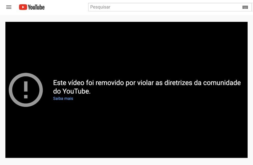 Mensagem sobre vídeo de Jair Bolsonaro com desinformação sobre medicamentos contra a Covid-19